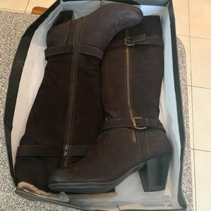 NEW Tall Chocolate Brown Boots